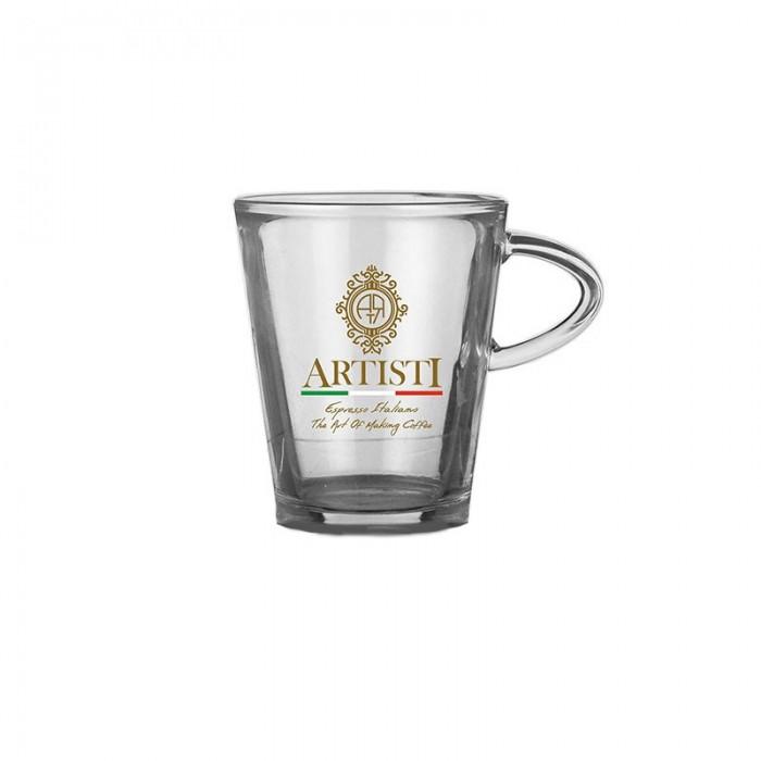 Γυάλινο ποτήρι Καπουτσίνο
